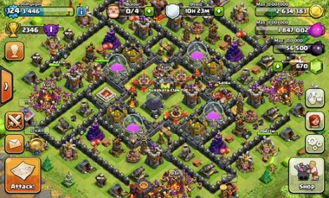 Clash of Clans base mbahgugel1